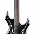 B.C. Rich Kerry King Warlock Two Tribal Onyx