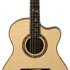 Private Stock Alex Lifeson Thinline Signature Acoustic