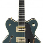 Gretsch Guitars G6609TG Players Edition Broadkaster® Center Block Double-Cut with String-Thru Bigsby® and Gold Hardware, USA Full`Tron™ Pickups