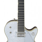 Gretsch Guitars G6129T-59 Vintage Select '59 Silver Jet™ with Bigsby®, TV Jones®, Silver Sparkle