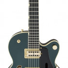 Gretsch Guitars G6659TG Players Edition Broadkaster® Jr. Center Block Single-Cut with String-Thru Bigsby® and Gold Hardware, USA Full`Tron™ Pickups, Cadillac Green