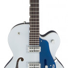 G6118T Player`s Edition Anniversary™ With String-Thru Bigsby®, Filter`Tron™  Pickups, 2-Tone Iridium Silver/Azure Metallic