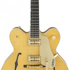 G6122TFM Player`s Edition Country Gentleman® with String-Thru Bigsby®, Filter`Tron™ Pickups, Flame Maple, Amber Stain