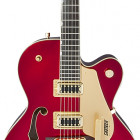 Gretsch Guitars G5420TL Limited Edition Electromatic Single-Cut Hollow Body with Bigsby and Gold Hardware Candy Apple Red