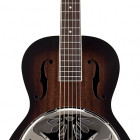 G9220 Bobtail Round-Neck A.E., Mahogany Body Spider Resonator Cone Guitar, Fishman Nashville Resonator Pickup