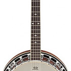 Gretsch Guitars G9410 Broadkaster Special 5-String Resonator Banjo, Rolled Brass Tone-Ring