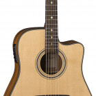 Art Recorder Dreadnought Cutaway A/E - All Solid Wood