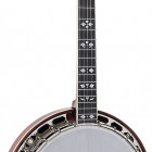 Recording King RK-ELITE-85 Recording King Flamed Maple Resonator Banjo