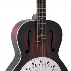 RR-41-VS Recording King Rattlesnake Wood Body Resonator Guitar