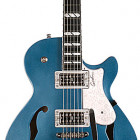 Godin Montreal Premiere LTD Desert Blue w/TV Jones & Bigsby