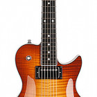 Godin Summit Classic LTD Cognac Burst Flame w/Bare Knuckle