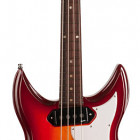 Dorchester 4 String Solid Body Bass Cherry Burst RN