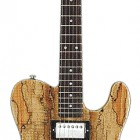 G&L ASAT Classic Bluesboy W/ Spalted Maple Top