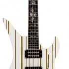 Syn White With Gold Stripes