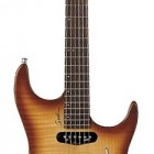 Natural Burst Flame High Gloss Rosewood Fretboard