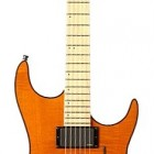 Trans Amber Flame Maple Fretboard