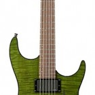 Trans Green Flame Rosewood Fretboard