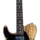 ASAT Classic Bluesboy w/Spalted Maple Top Left Handed