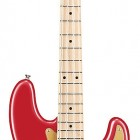 Chrome Red, Maple fretboard