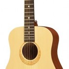 Luna Safari Muse Spruce 3/4 Size Travel Acoustic Package